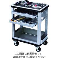 京都機械工具 KTC ツールステーションセット 可動式2段トレイ SK6006A 1セット 167-6442(直送品)