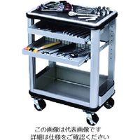 京都機械工具 KTC ツールステーションセット 可動式2段 SK6011 1セット 167-6452(直送品)