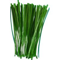 TRUSCO 園芸用ビニールタイ 幅4mm×長さ150mm 緑 (100本入) GVT150-100 195-2397(直送品)