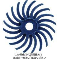 トラスコ中山(TRUSCO) TRUSCO ラジアルブラシディスクΦ14.3#120青 TBR14.3X120 216-7083(直送品)