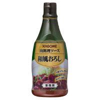 カゴメ 肉料理ソース 和風おろし 1セット(3本入)