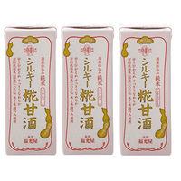 福光屋 シルキー糀甘酒200ml 3本