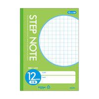 サクラクレパス サクラ学習帳方眼罫12ミリ黄緑 N142 10個 (直送品)