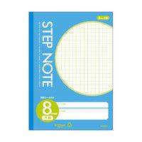 サクラクレパス サクラ学習帳方眼罫8ミリ青 N120 10個 (直送品)