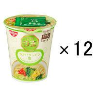 日清食品 日清ラ王 やさいタンメン塩 1箱(12食)