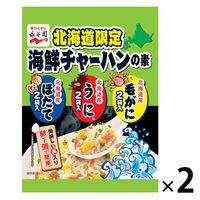 永谷園 永谷園 北海道限定海鮮チャーハンの素毛がにうにほたて 1セット(6袋×2個)