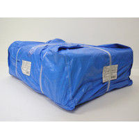 ユタカメイク(Yutaka) #3000ブルーシート 大畳み 2.7m×3.6m <15枚パック> PBZ-L05(直送品)