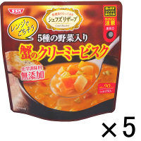 インスタントスープ レンジでごちそう! 蟹のクリーミービスク 1セット(5食)SSKセールス