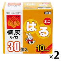 桐灰カイロ はるミニ 2箱(60個入)