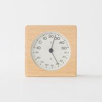 無印良品 ブナ材温湿度計 置型 15832699 良品計画