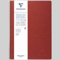 アージュバッグ ダブルリングノート A4 横罫 cf781452 1セット(2冊) クオバディス・ジャパン (直送品)