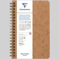 3ポケット付きノート 11x17 横罫 cf78616 1セット(2冊) クオバディス・ジャパン