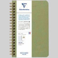 3ポケット付きノート 11x17 横罫 cf786163 1セット(2冊) クオバディス・ジャパン