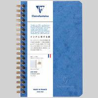 3ポケット付きノート 11x17 横罫 cf786164 1セット(2冊) クオバディス・ジャパン