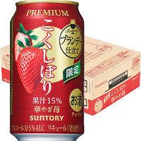 こくしぼり プレミアム華やぎ苺350ml缶 ×24缶