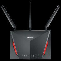 ASUS 最大2167Mbpsデュアルバンド対応 ゲーミングWiーFiギガビットルーター RT-AC86U 1台  (直送品)