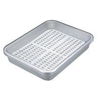 アルマイト 冷凍ケース(目皿付)CP-350 8146500 江部松商事(取寄品)