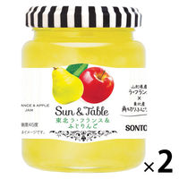 ソントン Sun&Table 東北ラ・フランス&ふじりんご 1セット(2個入)