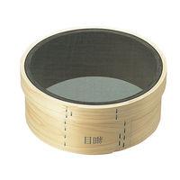 森田金網篩製作所 木枠 裏漉 代用毛 細目(24メッシュ)9寸(27cm) 0452000(取寄品)