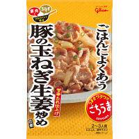 ごちうまごはんによくあう豚の玉ねぎ生姜炒めの素 74g 1セット(2個入) 江崎グリコ