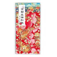 京都友禅ポチ袋 花集い 小 アソート 3枚入 PA-357 5個 エヒメ紙工 (直送品)