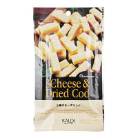 カルディコーヒーファーム カルディオリジナル 3種のチーズサンド 50g 1個