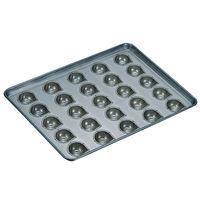 千代田金属工業 シリコン加工 マロンケーキ型 天板(25ヶ取) 6739600(取寄品)