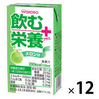 WAKODO飲む栄養プラスメロン×12