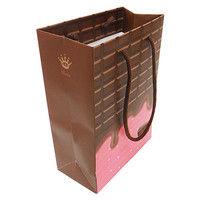 デザイン紙袋ST チョコ CHO-ST 10個 エヒメ紙工 (直送品)