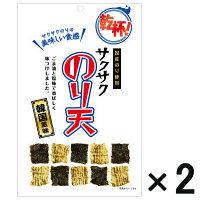 【アウトレット】カネタ サクサクのり天 韓国風味 <国産のり使用> 1セット(42g×2袋)