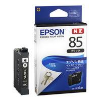 セイコーエプソン インクジェットカートリッジ ICBK85 ブラック 1個(わけあり品)