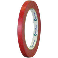リンレイテープ 和紙バックシーリングテープ 9mm×50m 赤 #194 9x50R 1箱(20巻入)(直送品)