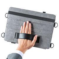 サンワサプライ スタンド機能付きショルダーベルトケース (iPad Pro 12.9インチ用) PDA-IPAD1212 1個 (直送品)
