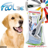 FOOLEE(フーリー) ペット用ブラシ M ライトグレー 正規品 153907 1個 (直送品)