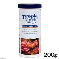 Tropic Marin(トロピックマリン) BIO-STRONTIUM バイオストロンチウム 200g 海水用添加剤 169391 1個 (直送品)