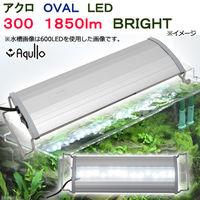 アクロ OVAL LED 300 1850lm BRIGHT Series 30cm水槽用照明 ライト 熱帯魚 水草 274071 1個(直送品)
