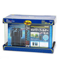 Tetra(テトラ) オールグラスRA-60VXバリューエックスパワーフィルター 60cm水槽セット 276664 1セット(直送品)