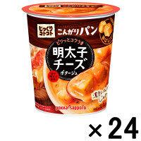 ポッカサッポロ(POKKA SAPPORO) じっくりコトコトこんがりパン明太子チーズポタージュカップ H HY96 24食