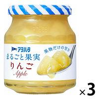 アヲハタ アヲハタ まるごと果実 りんご 250g 1セット(3個)