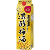 アサヒビール アサヒ 濃醇梅酒 10度 紙パック 1800ml 1本