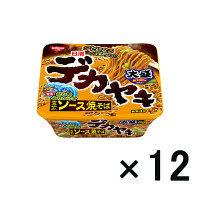 日清デカヤキ ソース焼そば 12食