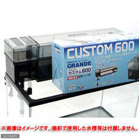 GEX(ジェックス) グランデカスタム 600 60cm水槽用上部フィルター 14784 1個(直送品)