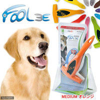 FOOLEE(フーリー) ペット用ブラシ M オレンジ 正規品 153899 1個 (直送品)