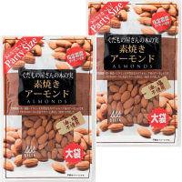 デルタ デルタインターナショナル くだもの屋さんの木の実 素焼きアーモンド 大袋 230g 1セット(2袋)