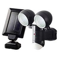 大進 ソーラーセンサーライト2灯式 DLS-2T300 (直送品)
