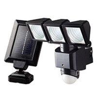 大進 ソーラーセンサーライト3灯式 DLS-3T300 (直送品)