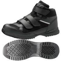 ミドリ安全 JSAA認定 作業靴 ハイカット 耐滑 プロスニーカー WPT-125 26.5cm ブラック 1足 2125093412(直送品)