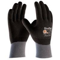 作業手袋 ATG グリップ強化 MaxiFlex Endurance 34-846 M グレー/ブラック 1双 4044501820(直送品)