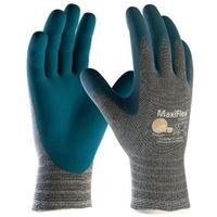 作業手袋 ATG 快適 MaxiFlex Comfort 34-924 S ライトグレー/アクアマリン 1双 4044502310(直送品)