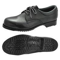 ミドリ安全 JIS規格 安全靴 短靴 耐滑ゴム底 FZ100 25cm ブラック 1足 R1100027009(直送品)